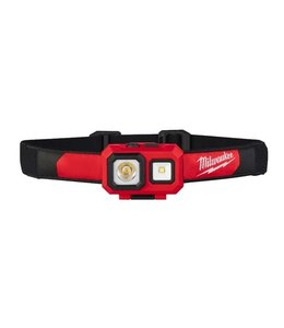 Milwaukee Milwaukee HL-SF LED alkaline hoofdlamp 450LUMEN