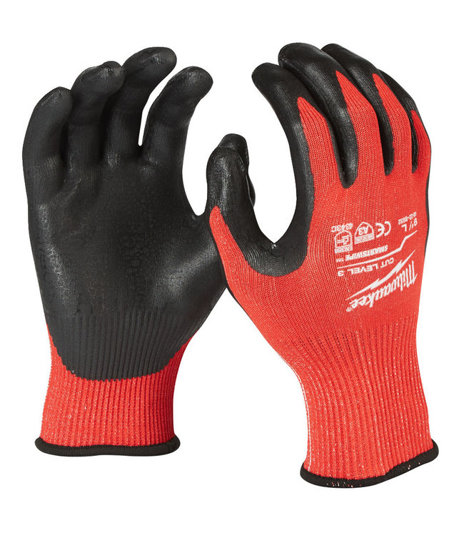 Milwaukee Werkhandschoen Milwaukee snijklasse 3 / maat 10 - XL