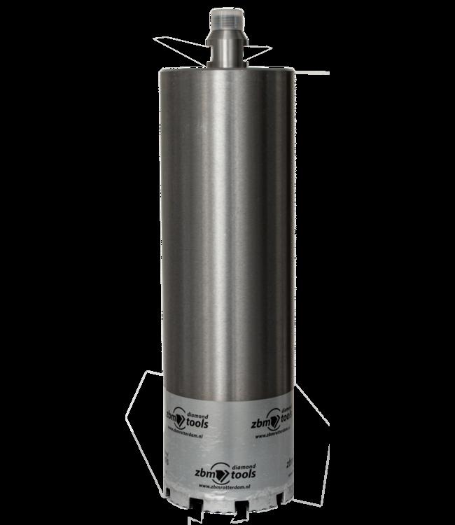 ZBM Diamond Tools Betonboor - 130/300 R1/2 Diamantboor dunwandig WAVE