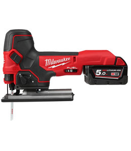 Milwaukee Milwaukee M18FBJS-502X FUEL decoupeerzaagmachine middelgreep