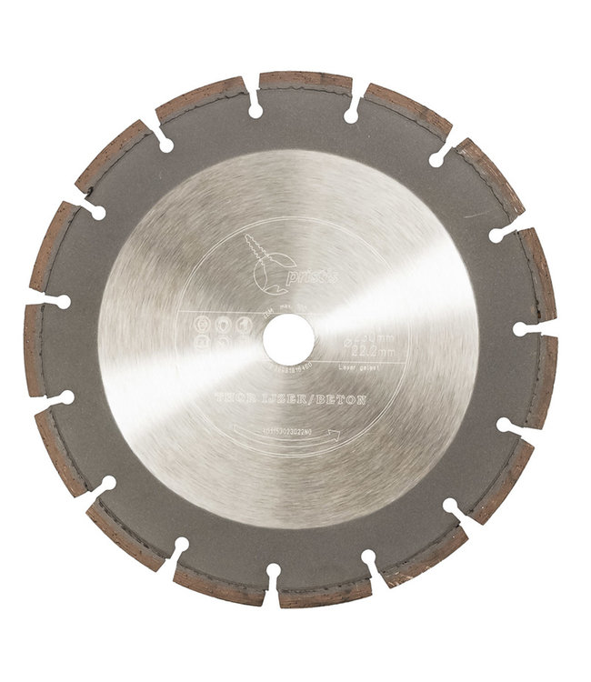 ZBM Diamond Tools Diamantzaag - 230/22,2mm Pristis Thor IJzer & Beton speciaal