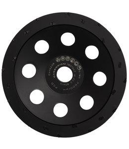 ZBM Diamond Tools 180/22,2mm komschijf PKD laag+demper zwart