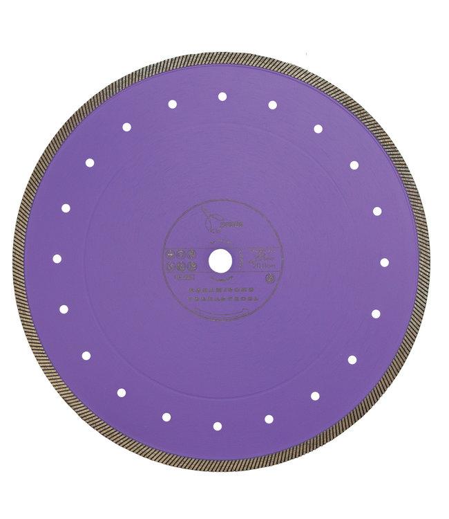 Pristis 300/20,0mm Pristis Keramische Terrastegel, vb. lila