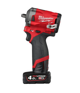 "Milwaukee Milwaukee M12FIW38-422X FUEL slagmoersleutel 3/8"" SD"
