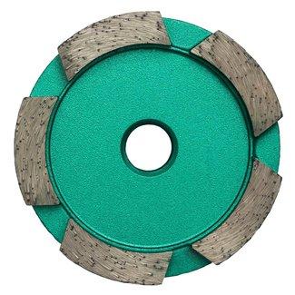 Pristis 070/M14 Pristis komschijf 1 rij segmenten metallic groen