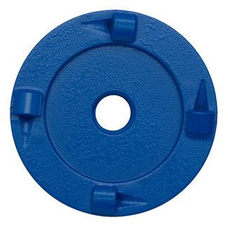 Pristis 070/M14 Pristis komschijf PKD 4 segmenten metallic Blauw