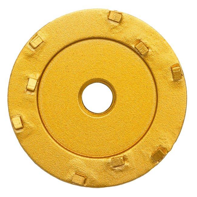 Pristis 070/M14 Pristis komschijf PKD 9 segmenten metallic Goud