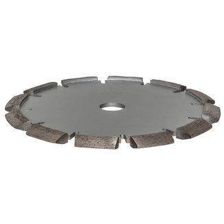Pristis 125/22,2mm x 8mm Pristis V-Groef scheurenfrees beton