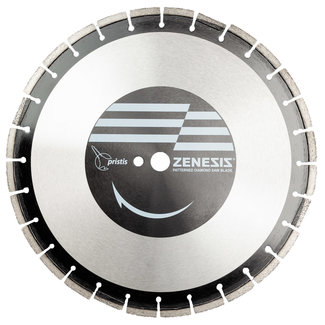 Pristis 400/25,4x8,0mm Pristis Zenesis FREES ZA60 Asfalt 20 segm+4WV