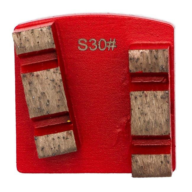 Pristis | Scanmaskin Schuurwings Soft #30/40 Scanmaskin Rood WS Spie