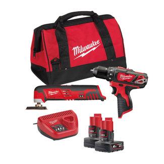 Milwaukee Milwaukee M12BPP2D-402B powerpack