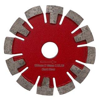 120/22,2x16,0mm Pristis vloerverwarming Harde Vloer / Rood