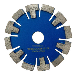120/22,2x16,0mm Pristis vloerverwarming Medium Vloer / Blauw