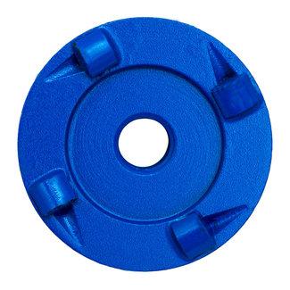 Pristis 060/M14 Pristis komschijf PKD 4 segmenten metallic Blauw