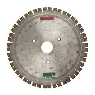 Pristis 400/60,0x3,2mm Graniet silencio :24 segm. 20mm hoogte.