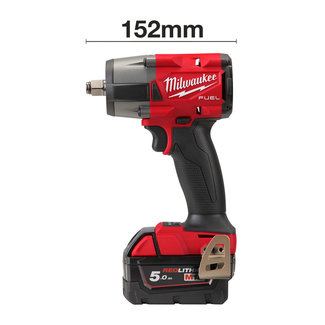"Milwaukee Milwaukee M18FMTIW2F12-502X FUEL slagmoersleutel 1/2"" SD"