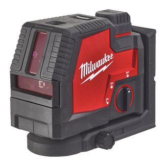 Milwaukee Milwaukee L4CLLP-301C Redlithium USB kruislijnlaser/loodlase