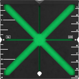Milwaukee Milwaukee HI-VIST Laser richtplaat-extra goedzichtbaar