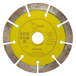 Pristis 125/22,2mm Pristis Genius kalkzandst./bet. gevelklinker geel
