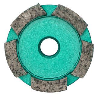 Pristis 060/M14 Pristis komschijf 1 rij segmenten metallic groen