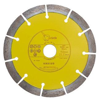 Pristis 150/22,2mm Pristis Genius kalkzandst./bet. gevelklinker geel