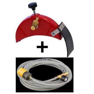 Porter Waterkit beschermkap 125mm losse kap INCLUSIEF slang
