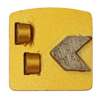 Pristis Schuurwings 2 x PKD - 1xdiamant Punt Redi Lock Husqvarna