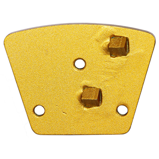 Pristis   Blastrac Schuurwings  2xPKD Punt Blastrac 3xM6 - Goud