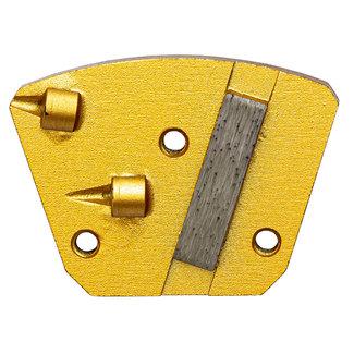Pristis Schuurwings 2xPKD - 1xdiamant / Blastrac 3xM6 Links