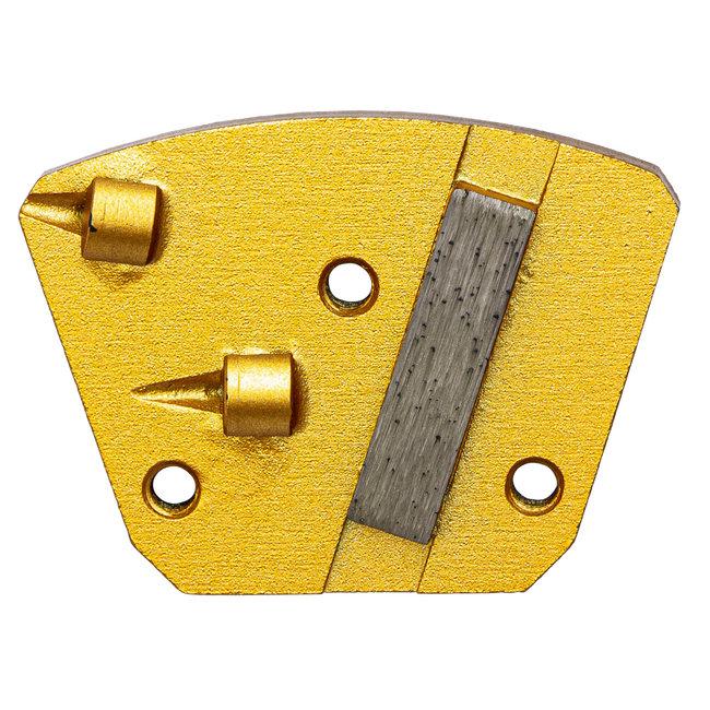 Pristis   Blastrac Schuurwings 2xPKD - 1xdiamant / Blastrac 3xM6 Links