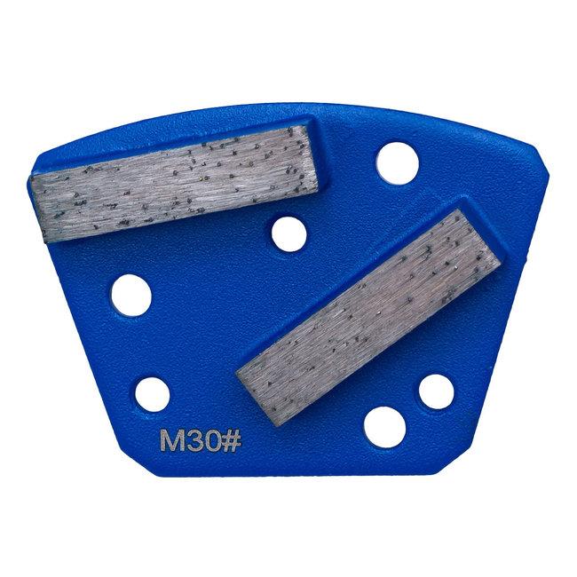 Pristis   Blastrac Schuurwings Medium #30 Blastrac Blauw 3xM6+3xpingat