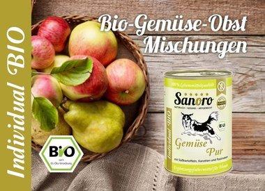 Bio-Gemüse/Obst Mischungen