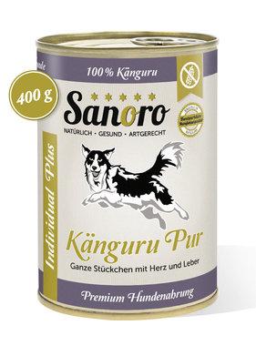 Sanoro Känguru PLUS mit Innereien - Pures Fleisch vom Känguru