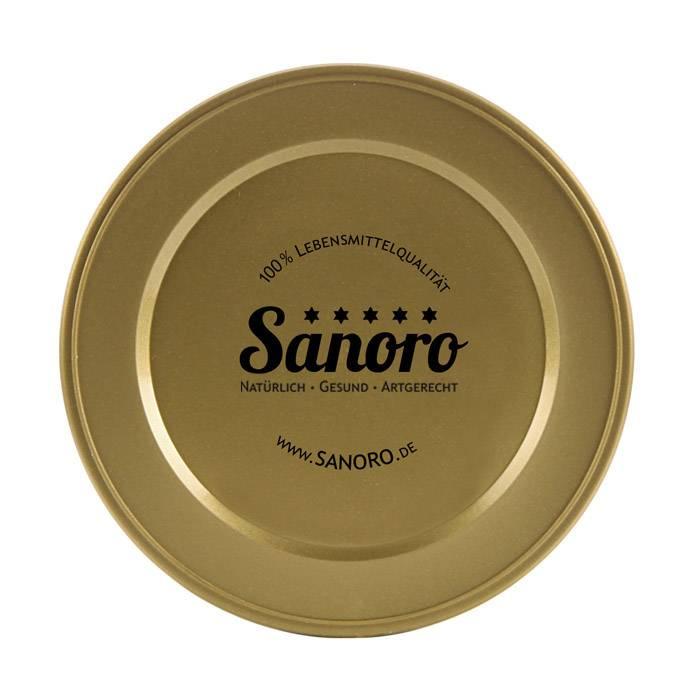 Sanoro Dosendeckel für unsere Sanoro - Dosen