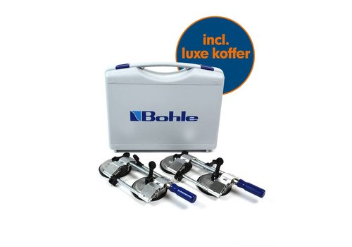 Bohle Veribor® Platenspannerset  (10 - 55 mm) BO 650.32A inclusief koffer
