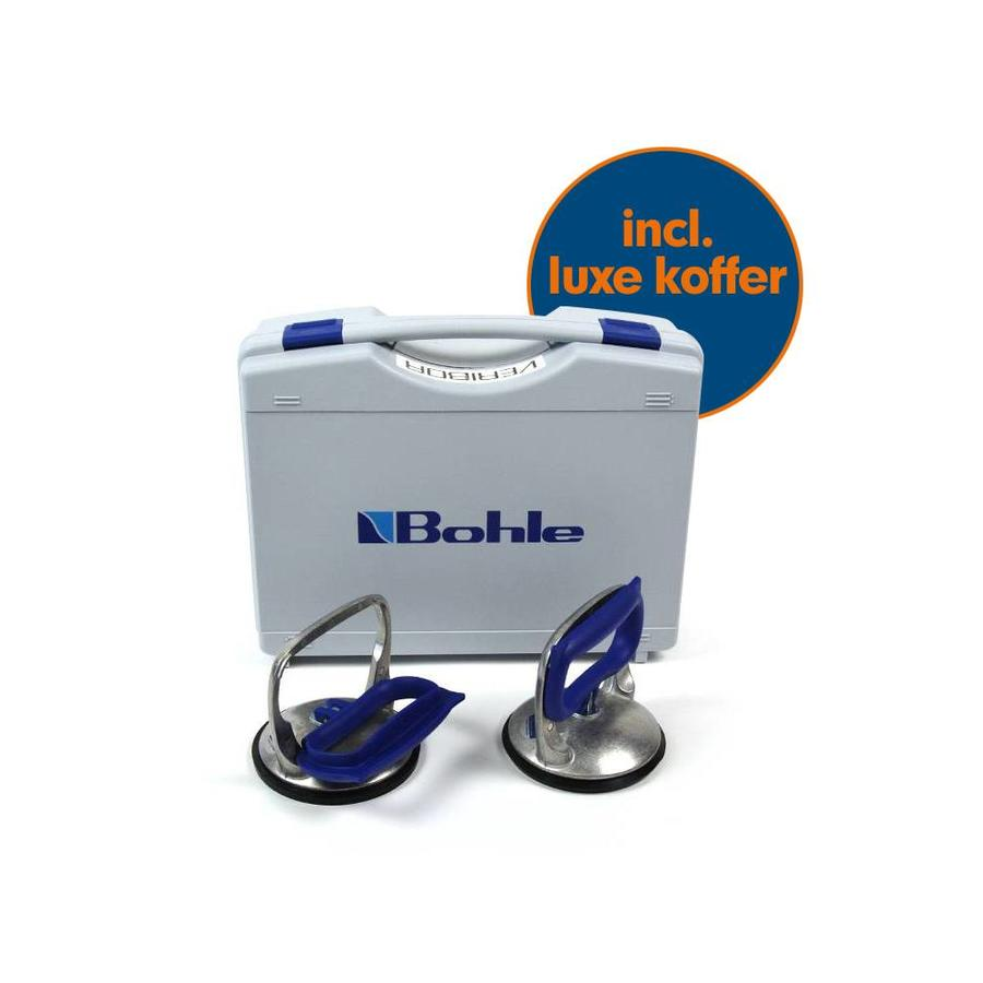Blue line glasdrager set BOS0.0BL, 30 kg (inclusief koffer)