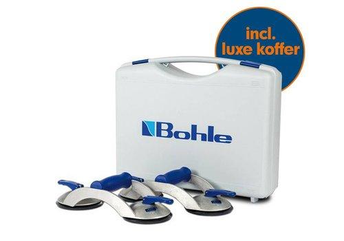 Bohle Veribor® Glasdragers BO S2.0BL set van 2 stuks in koffer
