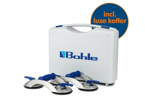 Bohle Veribor® KOFFERSET met stuks glasdragers BO S2.0BL