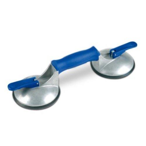 Bohle Veribor® ventouse à 2 têtes BO 602.42BL en ALU, 50 kg.
