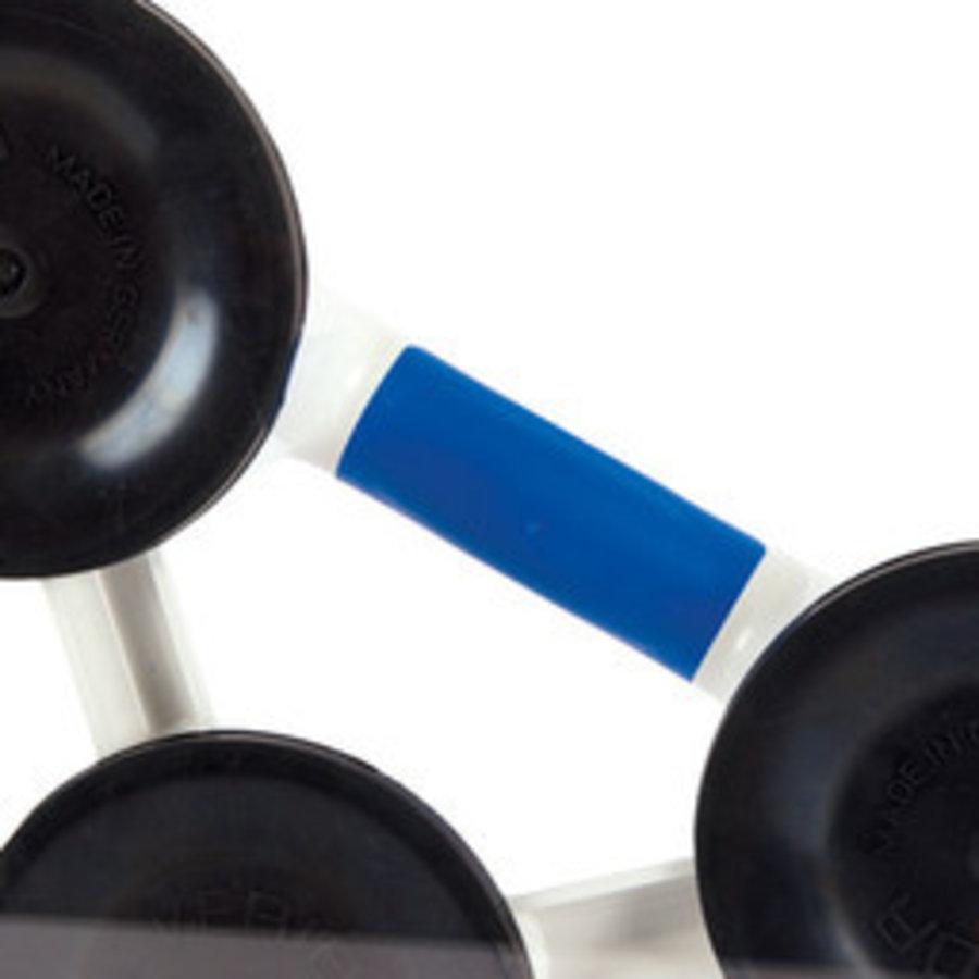 Veribor® 3-kops zuigheffer van kunststof met 3 koppen (BO603.1G)