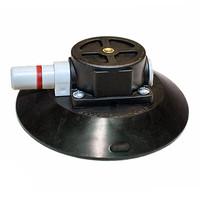 """Ventouse à pompe  concave 15.3 cm (6"""") Wood avec 1 / 4-20 x 3/8"""" tige filetée boîtier en plastique TL6AM"""