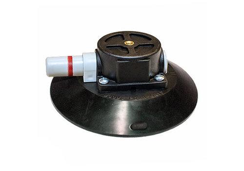"""CRL Ventouse à pompe  concave 15.3 cm (6"""") Wood avec 1 / 4-20 x 3/8"""" tige filetée boîtier en plastique TL6AM"""