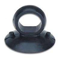 glasdrager van massief rubber met vingerring (BO 609.50)