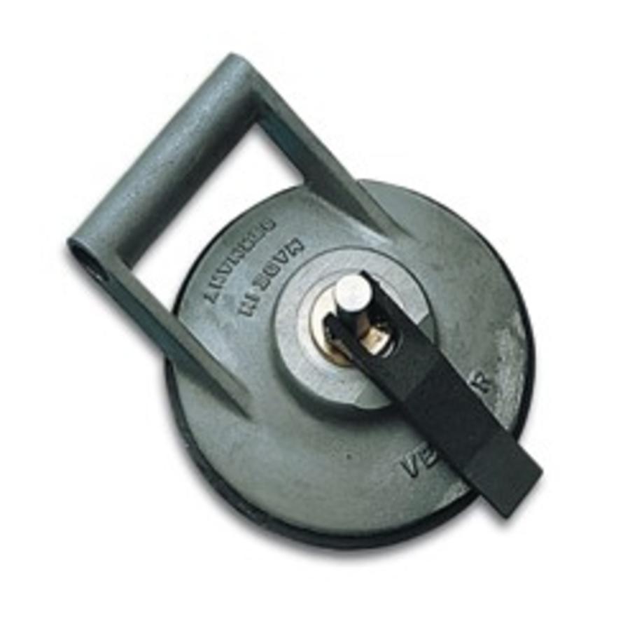 aluminium glasdrager met zijdelingse greep (BO 608.1)