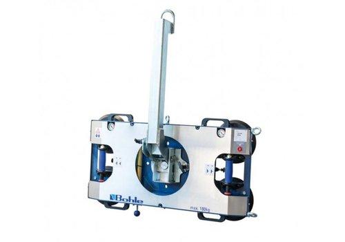 Bohle Veribor® BO B18DM4GS  vacuümzuiger B1, dubbel circuit, draaglast 180 kg