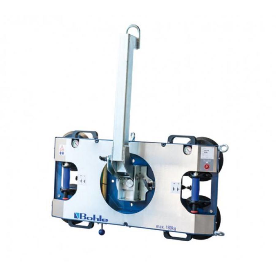 BO B18DM4GS Manueel bediend, dubbel circuit, draaglast tot 180 kg