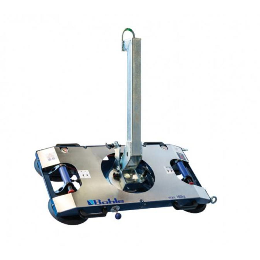 Vacuümzuiger BO B18DM4GS manueel bediend, dubbel circuit, draaglast tot 180 kg
