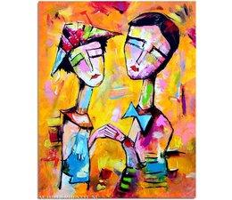 Schilderij 619