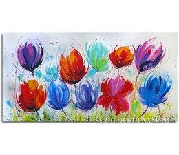 Regenboog Bloemen