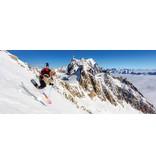 Snowgunz Monoski Flake Shot (FREERIDE)